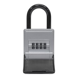 Abus 77454KEYGARAGE Key Safe 737MINI With Bracket Silver