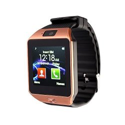 Bluetooth Luckiness Smart Watch 1.56 Capacitive Touch Screen With Sports Pedometer Hands Free Photo