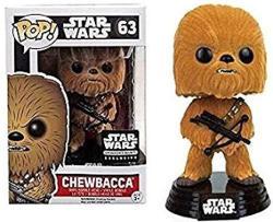 Funko Pop Star Wars Flocked Chewbacca Smuggler's Bounty Exclusive 63 By Pop