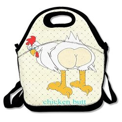 de5a3e3b9241 JAPOye Bags Guess What Chicken Butt Waterproof Lunch Tote Bag Insulated  Reusable Picnic Lunch Boxes For Men Women Kids | R760.00 | Educational | ...