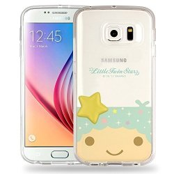 Galaxy S8 Case Little Twin Stars Boy Face Cute Star Clear Jelly Cover For Galaxy S8 5.8INCH - Face Little Twin Stars Kiki