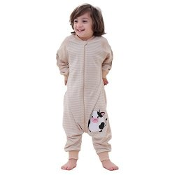 Cyuuro Early Walker Baby Sleeping Bag With Arms Organic Wearable Blanket Small