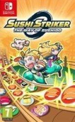 Nintendo Sushi Striker: The Way Of Sushido Switch