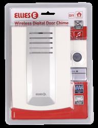 Wireless Door Chime 45M Range Single Receiver