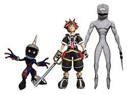 Diamond Select Toys Kingdom Hearts Select: Sora Dusk & Soldier Action Figure Set