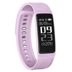 Chigu C7S Fitness Tracker 0.96 Inch Oled Screen Smartband Bracelet IP67 Waterproof Support Sports Mode Blood Pressure Sleep Monitor Heart Rate Monitor Remote Shooting Pink