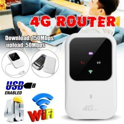 Unlocked MINI 4G LTE Wifi Router 150MBPS Mobile Wifi Hotspot With Sim Card  Slot | R1745 00 | Electronics | PriceCheck SA