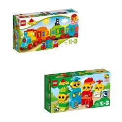 Lego Duplo My First Number Train Bundle 10847 & 10861
