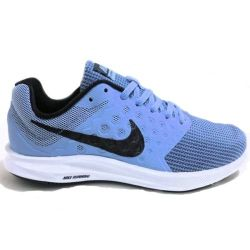 Nike Size 8 Downshifter 7 Womans Running Shoes in Blue