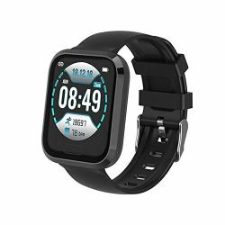 Luiryare IP67 Waterproof Fitness Smartwatch With Continuous Heart Rate Monitoring Looking For Phone Take Medicine To Remind Activity Tracker Bracelet For Android Ios