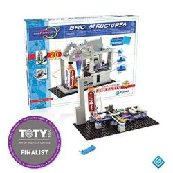 EWarehouse Snap Circuits Bric: Structures Brick And Electronics Exploration Kit Over 20 Stem & Brick Projects 4-COLOR Idea Boo