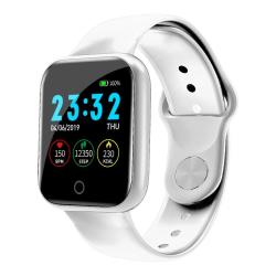 I5 1.3 Inch Ips Color Screen Smart Watch Support Call Reminder heart Rate Monitoring sleep Monitoring sedentary Reminder blood Oxygen Monitoring White