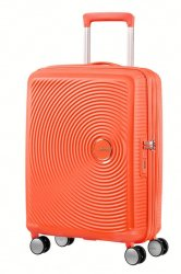 American Tourister Soundbox Expandable 55CM Spicy Peach