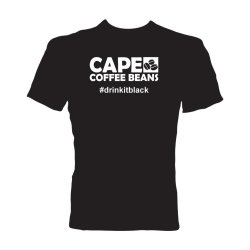 Cape Coffee Beans T-Shirt - Drinkitblack - Large