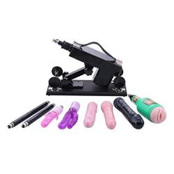 Automatic Sex Machine For Women Love Machine Thrusting Pumping Gun With 5 Dildos And Vagina Cup For Men