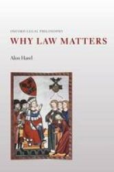 Why Law Matters Paperback