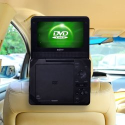 Car Headrest Mount For Portable DVD PLAYER-9 Inch