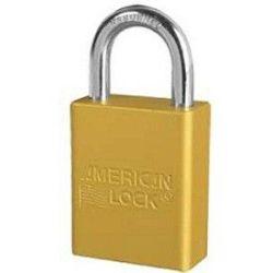 American Lock 1105 Aluminium Padlock Yellow