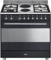 Smeg SSA91GGA9 90cm Full Gas Cooker Multi-Function Oven