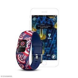 EWarehouse Garmin V Vofit Jr 2 Kids Fitness activity Tracker 1-YEAR Battery Life Adjustable Band Captain America