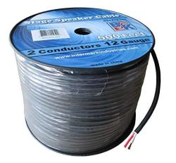 Blast King IRS1X12 Stage Speaker Cables 10 Awg 2 Conductors 500 Feet
