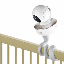 Itodos Baby Monitor Mount For Arlo Motorola Baby Monitor And Most Universal Monitors Camera Versatile Twist Mountwithout Tools Or Wall Damage