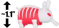 "Kidrobot Bones Red Skeleton 1.1"": Lore Of The Labbit - Kozik X Smorkin' Labbit Mini-figure Series Very Rare"