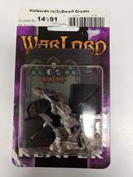 Warlord 14191 3 Dwarf Soldiers