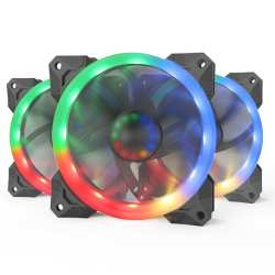 Redragon : 3XRGB LED Full Colour Fan