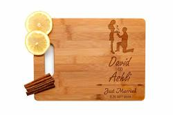 Krezy Case Wooden Engraved Cutting Board Home D Cor Wedding Favors Wedding Gifts For The Couple