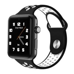 Domino DM09 Plus Watch Phone 128MB+64MB 1.54 Inch Ips Screen MTK2502C-ARM7 Silicone Watch Strap Bluetooth 4.0 Network: 2G Support Pedometer Text To Speech