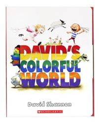 Davids Colorful World 5 Books With Cd
