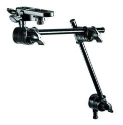 Manfrotto 196B-2 143BKT 2-SECTION Single Articulated Arm With Camera Bracket Black