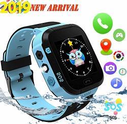 Kids Smartwatch Smart Watch For Kids Gps Touch-smartwatch Kinder-tracker-uhren Sos-anti-verlust-lbs Tracker Kamera Taschenlampe Wecker Voice Chat Fur M Dchen Jungen Geburtstag Geschenke