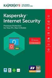 Kaspersky Internet Security 2017 1 Device 1 Year Download Online Code