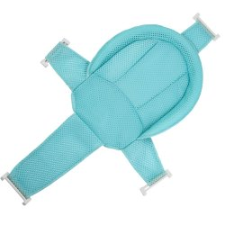 Portable Baby Bath Seat Support Net - Blue