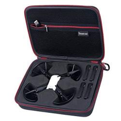 Smatree Carry Case For Dji Tello Drone 4 Tello Flight Batteries Tello Drone And 4 Tello Flight Batteries Is Not Included