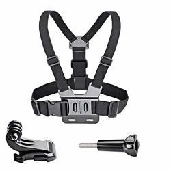 Adjustable Chest Body Strap Mount Harness Belt For Gopro Hero 2 3 3+ 4 5 6 Black