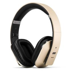 August EP650 Bluetooth Over Ear Wireless Stereo Nfc 3.5MM Headphones With Rechargeable Battery Multipoint And Built-in Microphone For Mobile Phones Iphone Ipad Laptops Tablets