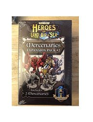Gamelyn Games GLGHLASP301 Heroes Of Land Air & Sea: Merc Pack 2 Exp Multicoloured