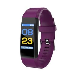 Bakeey ID115 Plus Color Screen Blood Pressure Heart Rate Monitor USB Charging Sm