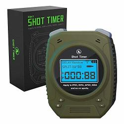 Special Pie Shot Timer - 2019 Newest 3 In 1 Shot Timer For Firearms Airsoft Stop Watch Perfect For Pistols Rifle Dry Fire In