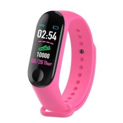 Bakeey HD Color Screen Wristband Blood Pressure Heart Rate Monitor Running Route Tr