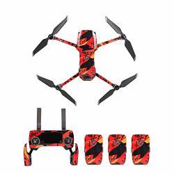 Nesee Pvc Drone Stickers Mavic 2 Drone Sticker Set Decals For Dji Mavic 2 Zoom pro 10 Styles I