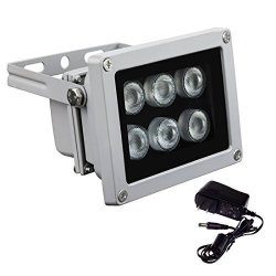 100 x 5mm 850nm IR Infrared LED nighe verison Camera E15