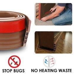Door Draft Stopper Door Bottom Seal Weather Stripping- Blendx Under Door  Sweep Waterproof Weather St   R   Hand Tools & Accessories   PriceCheck SA