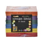 Edu Wooden Blocks - 60 Pieces