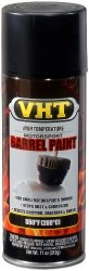 VHT SP906 Satin Black Barrel Spray Paint Can - 11 Oz.