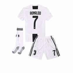 free shipping e6464 f94a5 Home 2018-2019 C Ronaldo 7 Juventus Kids Or Youth Soccer Jersey & Shorts &  Socks White 9-10YEARS SIZE 26   R899.00   Shirts & T-shirts   PriceCheck SA