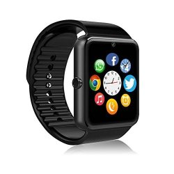 MSRMUS Smart Watch Compatible For Iphone 5S 6 6S 7 7S And Android 4.3 Above Anti Lost And Pedometer Fitness Tracker Partial Functions